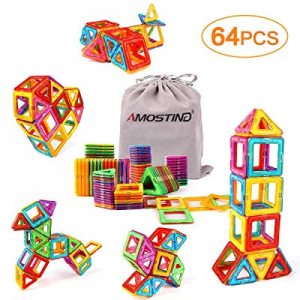 KIDCHEER Magnet Building Tiles now 30.0% off , Magnetic 3D Building Blocks Set for Kids, Magnetic ..