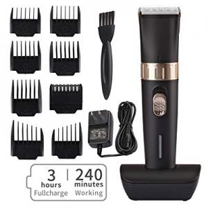 50.0% off Cordless Hair Trimmer Pro Hair Clippers Beard Trimmer for Men Haircut Kit for Men Kids U..