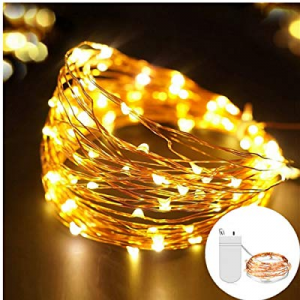 GreenClick 4 Pack Fairy Lights Battery Operated now 50.0% off ,9.8ft 30 LEDs Battery Operated Copp..