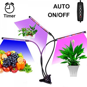 Led Grow Lamps for Indoor Plants now 50.0% off , Auto ON & Off with 3/6/12H Timer Plant Grow Light..