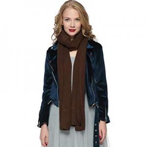 One Day Only!ZORJAR Women's Men Fashion Long Shawl Plush Knit Winter Warm Large Scarf now 40.0% off