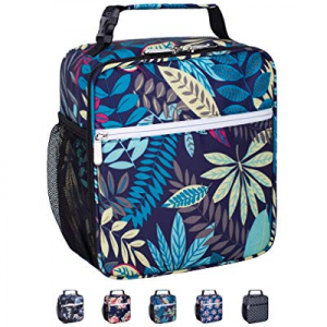 Leakproof Reusable Durable Insulated Cooler Lunch Bag - Office Work School Picnic Hiking Lunch Box..