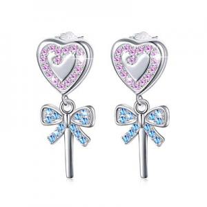 925 Sterling Silver Hypoallergenic Dainty Minimalist Stud Earrings for Women Girls Gift now 50.0% ..