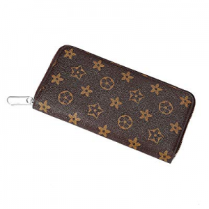 Long Clutch Wallets for Women now 35.0% off , Fashion Checkered Zip Around Wristlet Wallet, Ladies..