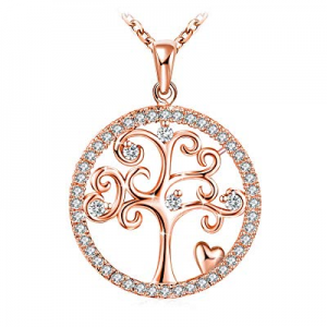 """80.0% off J.Rosée Tree of Life Pendant with 925 Sterling Silver 18""""+ 2"""" Extender Chain Jewelry Gif.."""