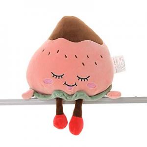 55.0% off Niuniu Daddy 12 Inch Food Plush Cute Stuffed Strawberry Cuddle Fruit Soft Toy for Kids H..