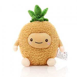 55.0% off Niuniu Daddy 12 inch Pineapple Food Plush Toys Shaped Fruit Series Cushion Doll Super So..