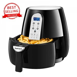 Nattork Air Fryer now 50.0% off ,4.7 Quart Electric Hot Air Fryers with Recipes, Oven Oilless Cook..