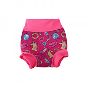 Swim Diapers Reusable Swim Diaper - Baby Water Swimming Nappy for Boy & Girl(Red, 3-6Months) now 7..