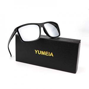 YUMEIA Sunglasses for Men & Women Polarized UV Protection Rectangular Unisex Sunglasses now 50.0% ..