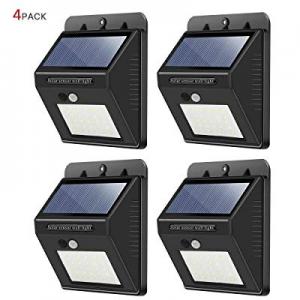 Solar Lights Outdoor now 35.0% off ,30 LED Wireless Waterproof Security Solar Motion Sensor Lights..