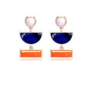 60.0% off Lateefah Vintage Acrylic Rattan Dangle Drop Earrings Statement Handmade Pearl Crystal Te..