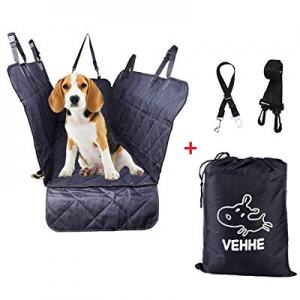 60.0% off VEHHE Dog Car Seat Covers Pet Seat Cover Hammock for Back Seat - 100% Waterproof Scratch..