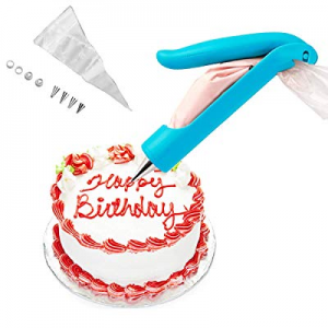20.0% off YIJIA Cake Decorating Pen Pastry DIY Icing Piping Tips Nozzles Bag Sugar Fondant Deco To..