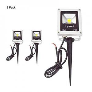 Lysed 10W LEDLandscape Light Flood Light now 70.0% off ,Low Voltage 12V Super Bright Mini IP66 W..