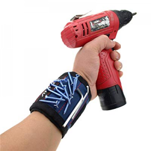 One Day Only!Danslesbls Super Magnetic Wristband now 80.0% off , Keeps Screws, Nails and Tools Han..