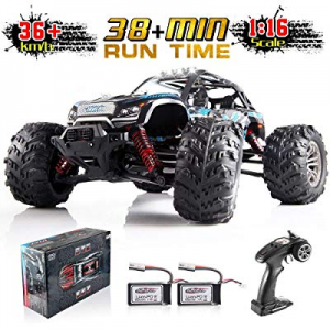 One Day Only!25.0% off Soyee 1:16 RTR RC Car 4WD 2.4GHz Remote Control Monster Truck All Terrain 3..