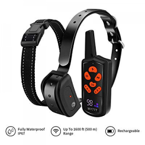 Dog Training Collar with Remote-Shock Collar for Dogs Large now 50.0% off ,Medium,Small-Waterproof..