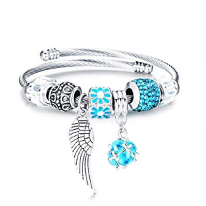 One Day Only!70.0% off Tree of Life Crystal Bracelet Bangle Jewelry Adjustable Stainless Steel Cha..