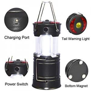 Portable LED Camping Lantern Flashlights Survival Kit for Emergency now 80.0% off , LED Flashlight..