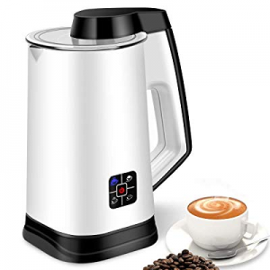 Milk Frother now 35.0% off , Electric Milk Steamer for Making Latte, Cappuccino, Hot Chocolate, Au..