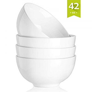 Malacasa Porcelain Bowls 42 Ounce for Cereal now 40.0% off , Soup, Salad and Desserts, Deep Rice B..
