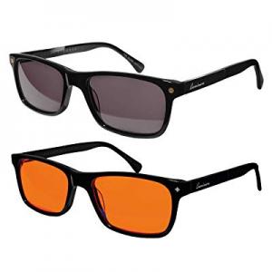 One Day Only!Luminere Blue Light Blocking Glasses 2 Pairs Premium Blue Blocker Blueblockers now 30..