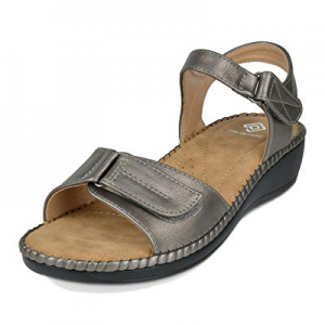 One Day Only!DREAM PAIRS Women's Platform Wedge Sandal now 70.0% off
