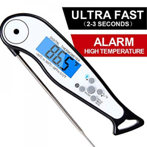 [Upgraded 2019] Instant Read Meat Thermometer now 70.0% off ,Digital Meat Thermometer with Thermoc..