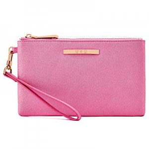 60.0% off Womens Leather Wristlet Lightweight Wallet - U+U Cellphone Purse Clutch Soft Ladies Hand..