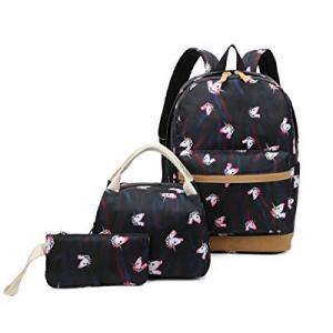 50.0% off Ulgoo Girls School Bags Kids Bookbags Teens Bookbag Set Kids Laptop Backpack Lunch Box P..