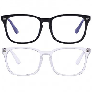 35.0% off Unisex Blue Light Blocking Glasses Blue Filter Computer Glasses (Anti Eye Eyestrain) Gam..