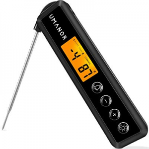 UMANOR Instant Read Meat Thermometer now 55.0% off , Digital Thermometer with Alerts, Backlights F..
