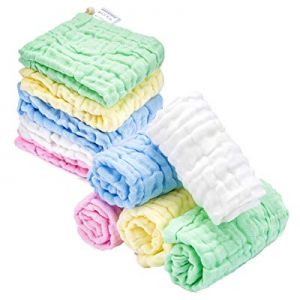 Kyapoo Baby Muslin Washcloths Absorb in 3 Seconds and Dry now 50.0% off , Towels Premium Extra Sof..