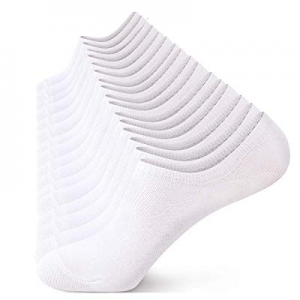 No Show Socks Men No Show Socks Women Ankle Socks Comfy Low Cut Combed Cotton Socks for 6/10 Packs..