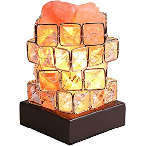 Greenclick Himalayan Salt Lamp Pink Rock Salt Lamps Night Light now 50.0% off , Himalayan lonic Na..
