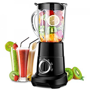 One Day Only!Professional Blender now 40.0% off , Smoothie Blender with 53 Oz BPA-Free Pitcher, Hi..