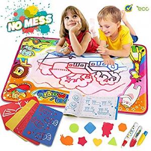 Water Drawing Mat Aqua Magic Doodle Mat Kids Toys Mess Free Kids Painting Writing Doodle Board Toy..