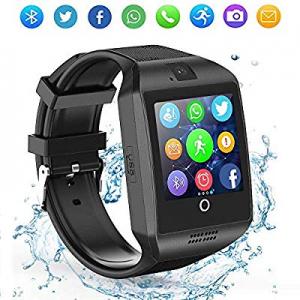 60.0% off LAHYXAL Smart Watch Touchscreen Bluetooth Smartwatch Fitness Tracker Sport Watch with Ca..