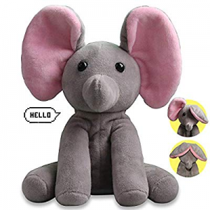 Yoego Talking Toy now 40.0% off , Plush Elephant Cute Sound Effects with Repeats Your Said Voice, ..