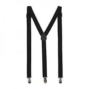 ZHWNSY Men Suspenders Y-back Adjustable Skirt Stays Strong Straight Clips now 70.0% off