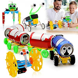PETUOL Electric Motor Robotic Science Kits now 25.0% off , New Year 2020 4 Sets DIY STEM Toys for ..