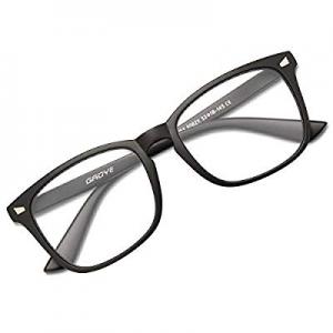 GAOYE Blue Light Blocking Glasses for Women Men now 50.0% off ,Square Nerd Eyeglasses Anti UV Ray ..