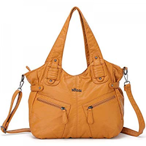 ZOCAI Shoulder for Women, Hobo Bags Large Ladies Crossbody Bag Purse with Tassel PU Leather now 70..