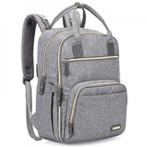 One Day Only!Diaper Bag Backpack now 15.0% off , iniuniu Large Unisex Baby Bags Multifunction Trav..