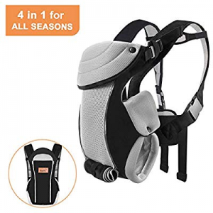 Bable Baby Carrier Ergonomic now 30.0% off , Soft Carrier Newborn-for Baby 8-20 lbs-Baby Wrap Carr..