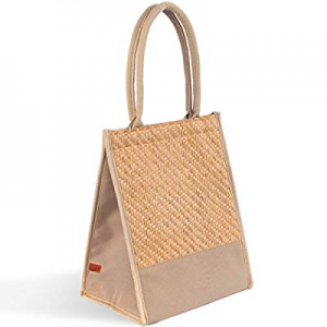 ECRU Hand Woven Seagrass Lunch Tote Bag – Handmade Lunch Handbag – BPA-Free now 30.0% off , Non-To..
