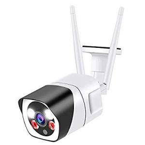 Outdoor Security Camera now 35.0% off , 2.4G WiFi Home Security Cameras,1080P CCTV Surveillance Ca..