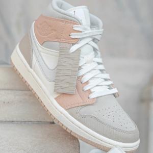 Nike英国官网 Jordan City Pack Air Jordan 1 Mid Milan 女款运动鞋即将开售