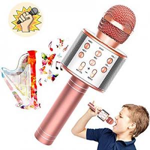 Toy'n Karaoke Microphone for Kids now 50.0% off , 3 in 1 Wireless Portable Handheld Mic Karaoke Ma..